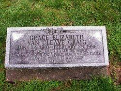 Grace Elizabeth <i>VanCleave</i> Craig