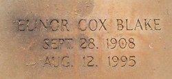 Elinor <i>Cox</i> Blake