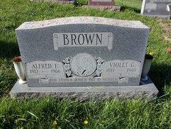 Violet G <i>Sanders</i> Brown