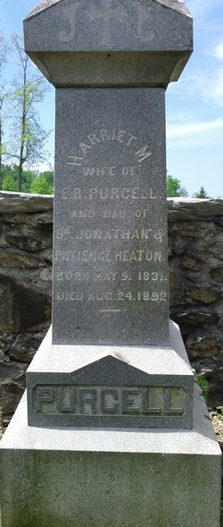 Harriet M. <i>Heaton</i> Purcell