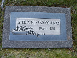 Stella <i>McNear</i> Coleman
