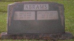 Emily A. <i>Wolf</i> Abrams
