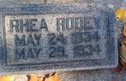 Rhea ROBEY