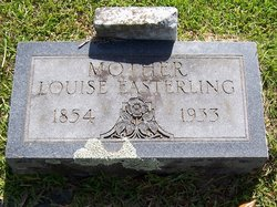 Harriet Louise <i>McClain</i> Easterling