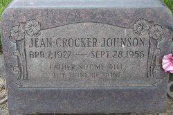 Jean <i>Crocker</i> Johnson