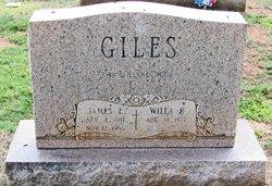 James Edwin Giles