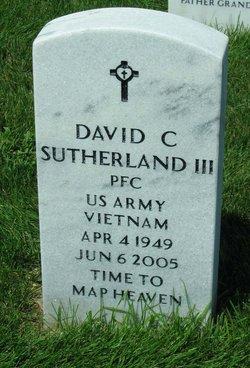 PFC David C Sutherland, III
