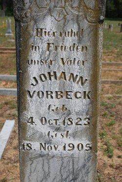 Johann Vorbeck
