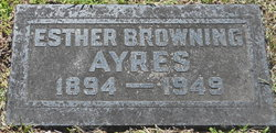 Esther <i>Browning</i> Ayres