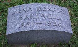 Nina (Eugenia) <i>McNair</i> Bakewell