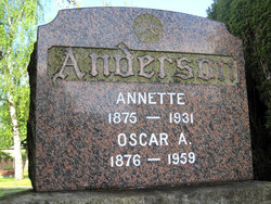 Oscar August Anderson
