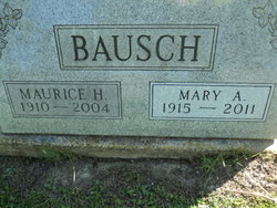 Mary A. <i>Crew</i> Bausch