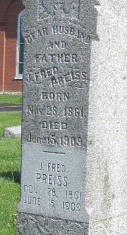 John Frederich Fred Preiss