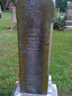 Ann <i>Wallis or Davis</i> Harper