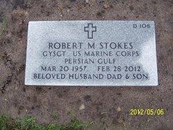 Robert Mitchell GySgt Stokes