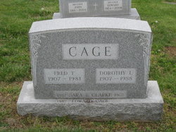 Frederick T. Fred Cage
