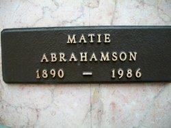 Matie Abrahamson