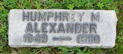 Humphrey M. Alexander
