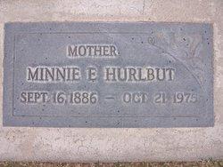 Wilhelmina Johanna Minnie E <i>Dreier</i> Hurlbut