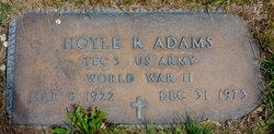 Hoyle R Adams