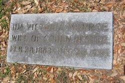 Ida Victoria <i>Monroe</i> Hester