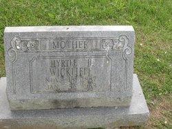 Myrtle H. Wickliffe