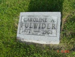Caroline A Fulwider