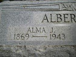 Alma Jane <i>Haworth</i> Albertson