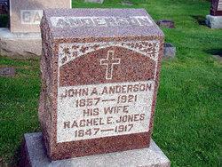 Rachel Elizabeth <i>Jones</i> Anderson