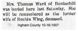 Ella L. <i>St. Johns</i> Wing Ward