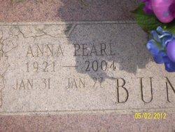 Anna Pearl <i>Klinkhamer</i> Buntin