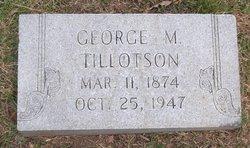 George M Tillotson