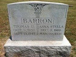 Thomas Uriah Tom Barron