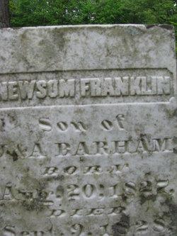 Newsom Franklin Barham
