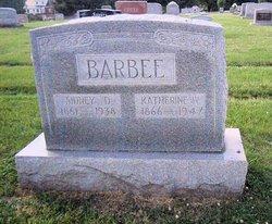 Nancy Catherine <i>Wolford</i> Barbee