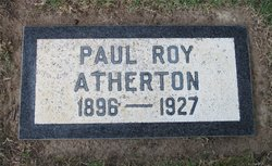 Paul Roy Atherton