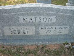 Mattie B. <i>Brittain</i> Matson