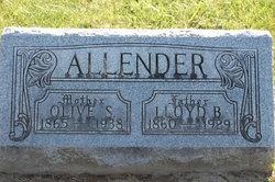 Lloyd B Allender