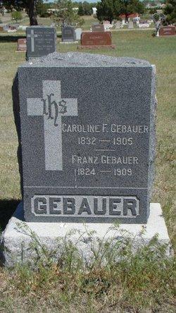 Franz Gebauer