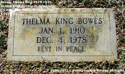 Thelma <i>King</i> Bowes