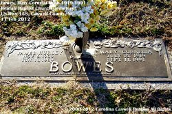 Mary Cornelia <i>Bush</i> Bowes