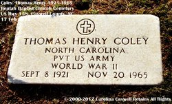 Thomas Henry Coley