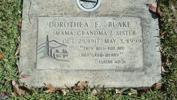 Dorothea Elizabeth <i>Lawrence</i> Blake
