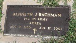 Kenneth J Bachman