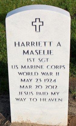 Harriett A <i>Anderson</i> Maselie