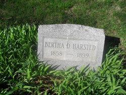 Bertha D <i>Westwick</i> Harsted