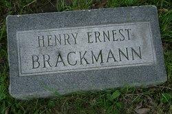 Henry Ernest Brackmann
