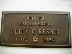 Betty C Resnik