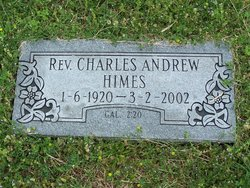 Rev Charles Andrew Himes