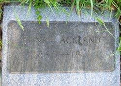 Anna L. <i>Becker</i> Ackland
